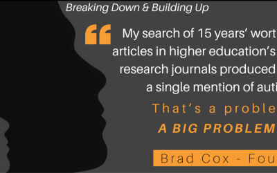 [Blog] Breaking Down and Building Up: Giving Birth to the College Autism Network