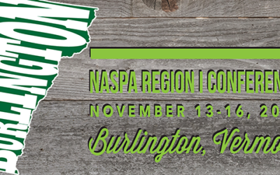 [Event] National Association of Student Personnel Administrators (NASPA) Region 1 Conference