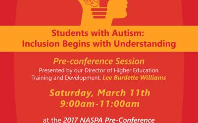 [Event] NASPA 2017 Annual Conference: Pre-Con