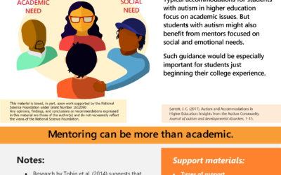 Fast Fact #9 Mentoring can be more than academic.