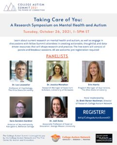 Image: Taking Care of You: A Research Symposium on Mental Health and Autism